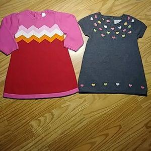 Baby Gap(12-18M) Gymboree(12-18M) Dress Bundle